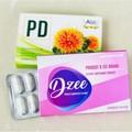 【お得な各6個セット】Dzee ディージー 脂肪燃焼食欲抑制コントロール 10錠入x 6個 +PD DETOX デトックス効果10錠入x6個 本格的に痩せると有名なサプリです。