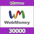 WebMoneyコード(30000円コード)