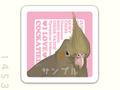 くちばしーる(大)シナモンオカメ・ピンク