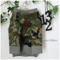 【再販】カモフラロンT 手作りワンコ服