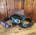 """ANCHOR BRIDGE  """"Bridle Leather Belt 20mm"""""""