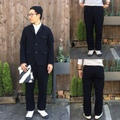 """H.UNIT STORE LABEL """"Wool Hunting Tuck Trousers"""""""