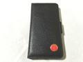 剣護身術オリジナルiPhone6・6s用本革手帳型ケース 黒