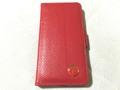 剣護身術オリジナルiPhone6・6s用本革手帳型ケース 赤