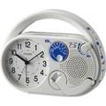 シチズン ディフェリアR04発電機能付多機能防災めざまし時計4RQA04-003