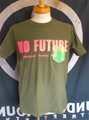 TRICKY ACTION/NO FUTURE Tシャツ(green)