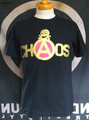 CHAOSプリント・Tシャツ(black)