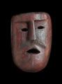 インドネシア・ティモール島の木彫りのマスク TM_ss-7