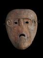 インドネシア・ティモール島の木彫りのマスク
