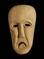 インドネシア・ティモール島木彫りのマスク