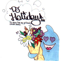 DJ HOLIDAY The music from my girlfriend`s console stereo vol.1 MIX CD-R