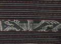 インドネシア・ティモールのアンティークイカット(綿絣)<8>