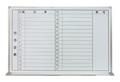 壁掛ホワイトボード(月行事・横書) W900×H600