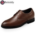 Willesden Brown (Lightweight Formal Glossy Leather Oxford) 6cmアップ