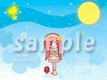よろしこガール☆ PC壁紙800×600
