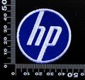 HP ヒューレット・パッカード ワッペン (丸)