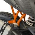 CRAZY IRON,KTM 390 ADVENTURE サブケージ スタント リアステップ スタントケージ