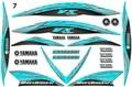 Yamaha,VX110,Waverunner,05-09,ジェットスキー,グラフィック,デガール,2