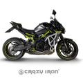 CRAZY IRON, KAWASAKI Z900 2020 スタント エンジンガード+スライダー スタントケージ