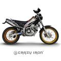 CRAZY IRON, YAMAHA トリッカー XG250 スタント エンジンガード+スライダー スタントケージ