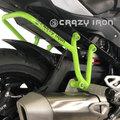 CRAZY IRON, BMW S1000XR 15- スタントケージ サブゲージ リアステップ