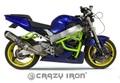 CRAZY IRON, HONDA CBR929RR スタント エンジンガード+スライダー スタントケージ