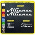 ALLIANCE, MTB ロードバイク,サイクル ステッカー,ステッカーキット,