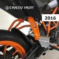 KTM Duke 125/250/390 2016, 2017 スタントケージ リアステップ