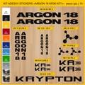 ARGON 18, KR36 MTB ロードバイク,サイクル ステッカー,ステッカーキット,