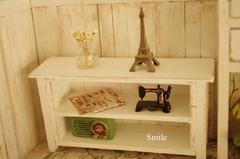 飾りボード(2段、ドールハウス、ミニチュア用)