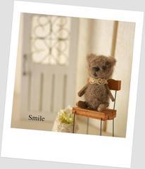 Smileになるクマさん♪