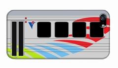 送料無料【カバ鉄】阿佐海岸鉄道 ASA101(側面) スマートフォンケース071