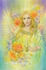 ポストカード:「芸術家の守護天使」
