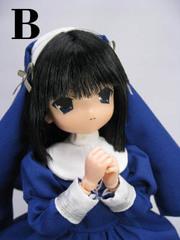 こと乃 ミッション系ロリータ制服(紺服、黒髪)