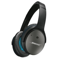 Bose QuietComfort 25 Acoustic Noise Cancelling headphones - Apple devices : ノイズキャンセリングヘッドホン 密閉型/オーバーイヤー/Apple製品対応リモコン・マイク付き ブラック QuietComfort25 BK【国内正規品】