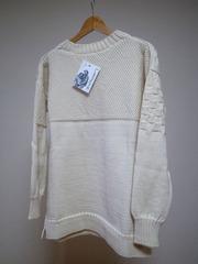 guernsey woollens x softs cassette tape knit block