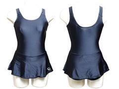 OLIVE des OLIVE スカート付きワンピーススクール水着 300145