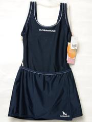 OLIVE des OLIVE スカート付きワンピーススクール水着 30113