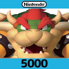 Nintendoプリペイドカード(5000円)