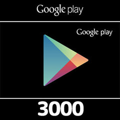 Google Playコード(3000円券)