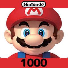 Nintendoプリペイドカード(1000円)
