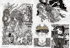 ステッカー「夢蝕の魚図鑑」
