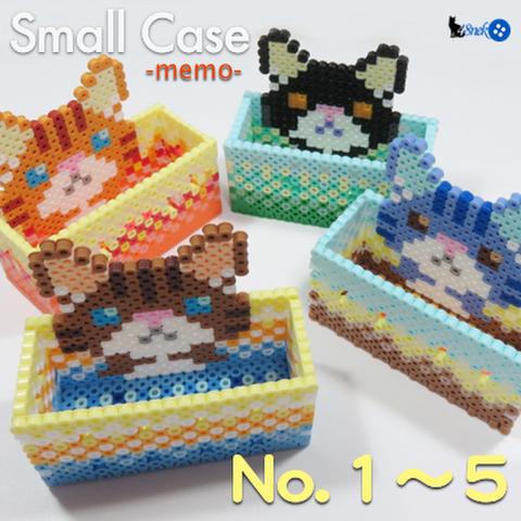 「小箱猫」シリーズ:メモ・小物いれ <1〜5>