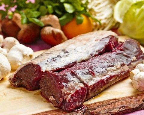 えぞ鹿肩ロース肉 (冷凍ブロック)とろける美味しさ 1kg