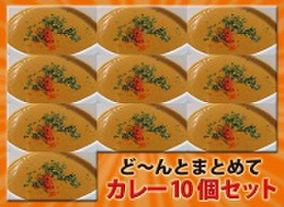 【送料無料】3種のカレー10食とチーズナン10枚セット