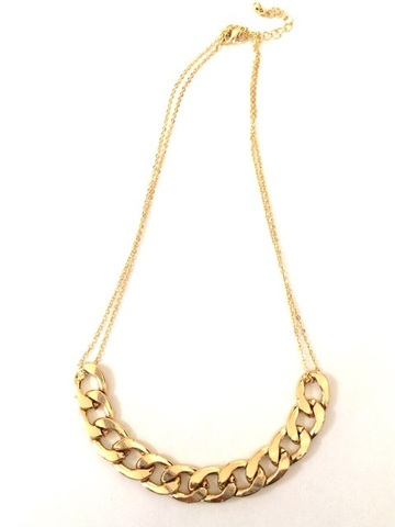 Simple gold chain NC