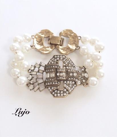 Vintage pearl bijou Br.