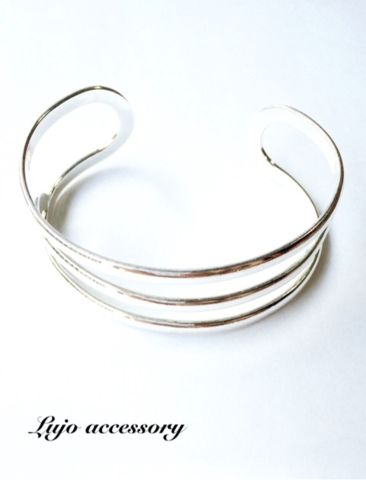 Silver925製バングル(3LINE)