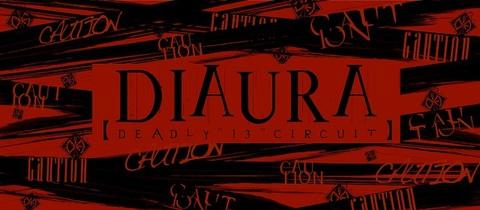 "DIAURA 「deadly""13""circuit」タオル"