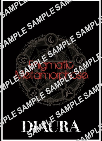 DIAURA 「Enigmatic Metamorphose」ツアーパンフレット